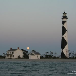 Cape Moon Rising
