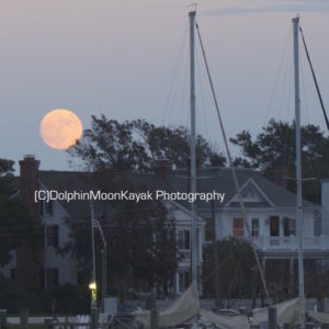 Moonrise over Historic Beaufort