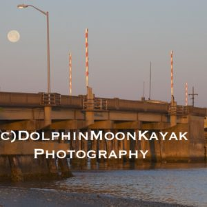Moonset Over Grayden Paul Bridge